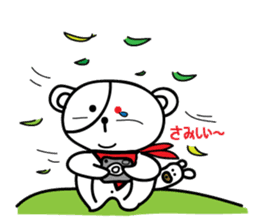 Redeye Kuma sticker #11799000