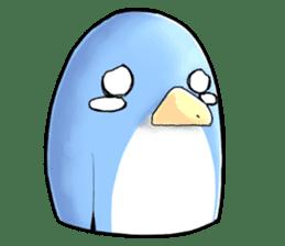 Unrestrained penguin Sticker sticker #11801370