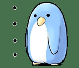 Unrestrained penguin Sticker sticker #11801372