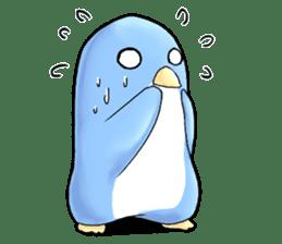 Unrestrained penguin Sticker sticker #11801374