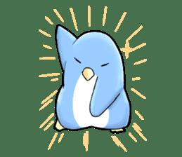 Unrestrained penguin Sticker sticker #11801375
