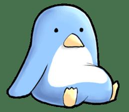 Unrestrained penguin Sticker sticker #11801380