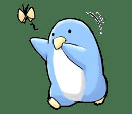 Unrestrained penguin Sticker sticker #11801383