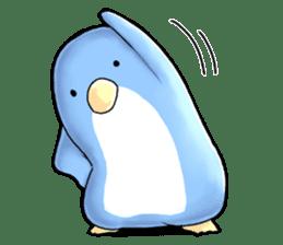 Unrestrained penguin Sticker sticker #11801388
