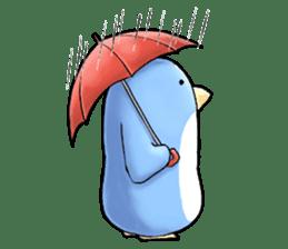Unrestrained penguin Sticker sticker #11801401