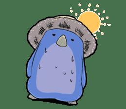 Unrestrained penguin Sticker sticker #11801402