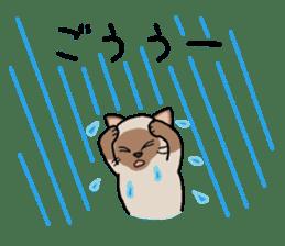 Summer, Orin and Kinaco and Myasuke sticker #11801932