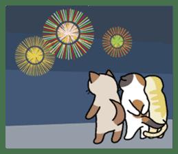 Summer, Orin and Kinaco and Myasuke sticker #11801942