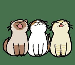 Summer, Orin and Kinaco and Myasuke sticker #11801961