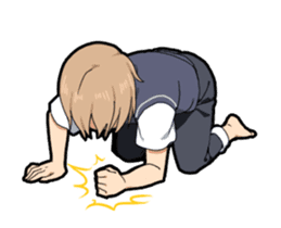 Lost of the boy's vocabulary Animated sticker #11806202