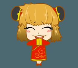Chinese girl !! + sticker #11806606