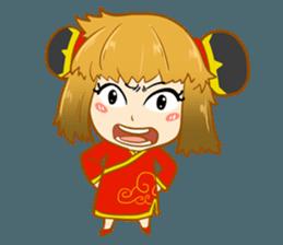 Chinese girl !! + sticker #11806607