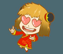 Chinese girl !! + sticker #11806611
