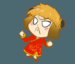 Chinese girl !! + sticker #11806613