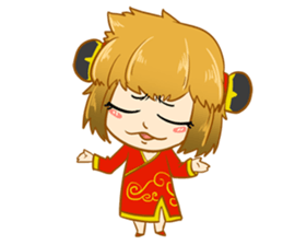 Chinese girl !! + sticker #11806623
