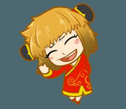Chinese girl !! + sticker #11806629