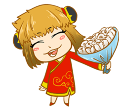 Chinese girl !! + sticker #11806631