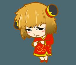 Chinese girl !! + sticker #11806632