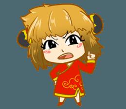 Chinese girl !! + sticker #11806633