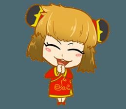 Chinese girl !! + sticker #11806636