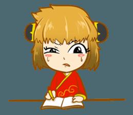 Chinese girl !! + sticker #11806639