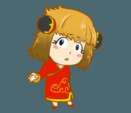 Chinese girl !! + sticker #11806640