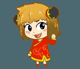 Chinese girl !! + sticker #11806641