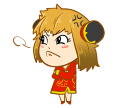 Chinese girl !! + sticker #11806644