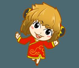 Chinese girl !! + sticker #11806645