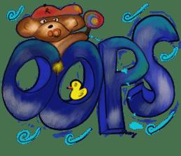Rossy 3D bears sticker #11808091
