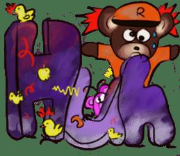 Rossy 3D bears sticker #11808093