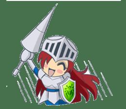 Knight-Layaya sticker #11808814