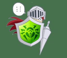 Knight-Layaya sticker #11808833