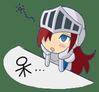Knight-Layaya sticker #11808835