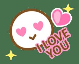 FACE/Animated-English- sticker #11812635
