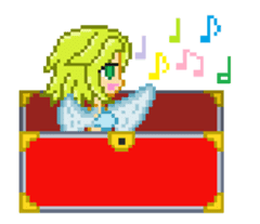 Mimic girl the animation sticker #11815649