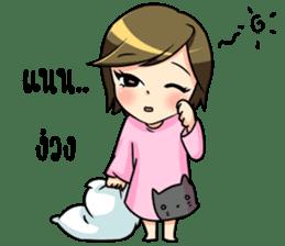 Nan : The naughty girl sticker #11815889