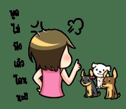 Nan : The naughty girl sticker #11815895