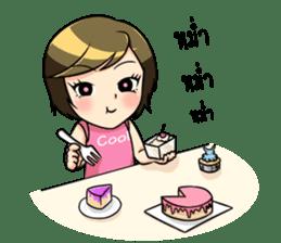 Nan : The naughty girl sticker #11815908