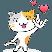 สติ๊กเกอร์ไลน์ ชานม แมวมีความรัก