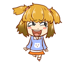 The Mood Girl! + sticker #11817884