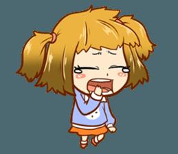 The Mood Girl! + sticker #11817904