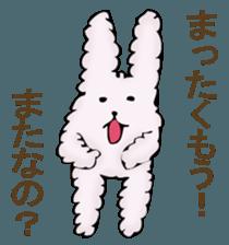 With quiet rabbit, mother imitation sticker #11818657