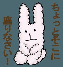 With quiet rabbit, mother imitation sticker #11818660
