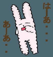 With quiet rabbit, mother imitation sticker #11818662