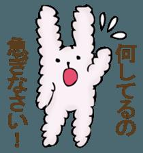 With quiet rabbit, mother imitation sticker #11818679