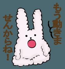 With quiet rabbit, mother imitation sticker #11818693