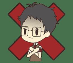 Notice Me Senpai! Mobile Game sticker #11820623