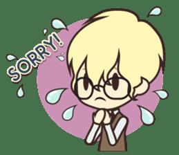 Notice Me Senpai! Mobile Game sticker #11820626