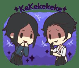 Notice Me Senpai! Mobile Game sticker #11820627
